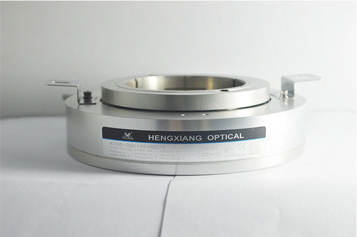 K158 78mm Through Hole Encoder Thickness 43mm Aluminum Alloy Material IP50